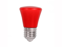 2W E27 Red LED Bulb | NaDeco Series